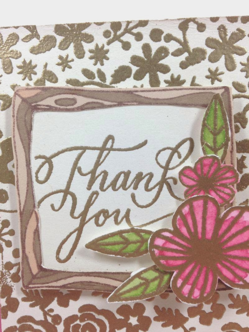 Cricut Artbooking Woodlands Thank you closeup