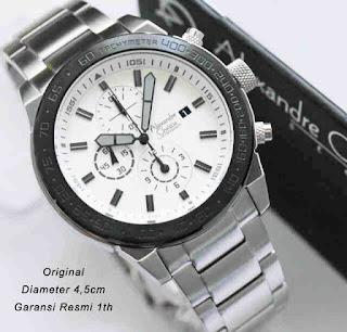 harga jam tangan pria original alexandre christie 6220