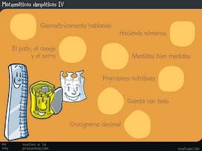 MATEMÁTICAS SIMPÁTIVAS IV