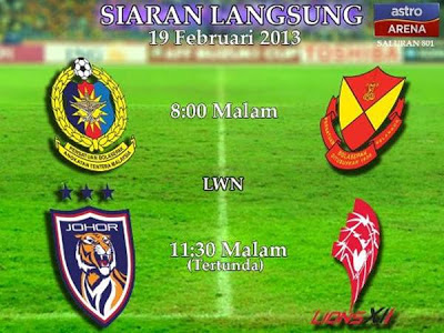 Live Streaming ATM vs Selangor 19 Februari i 2013 - Liga Super 2013