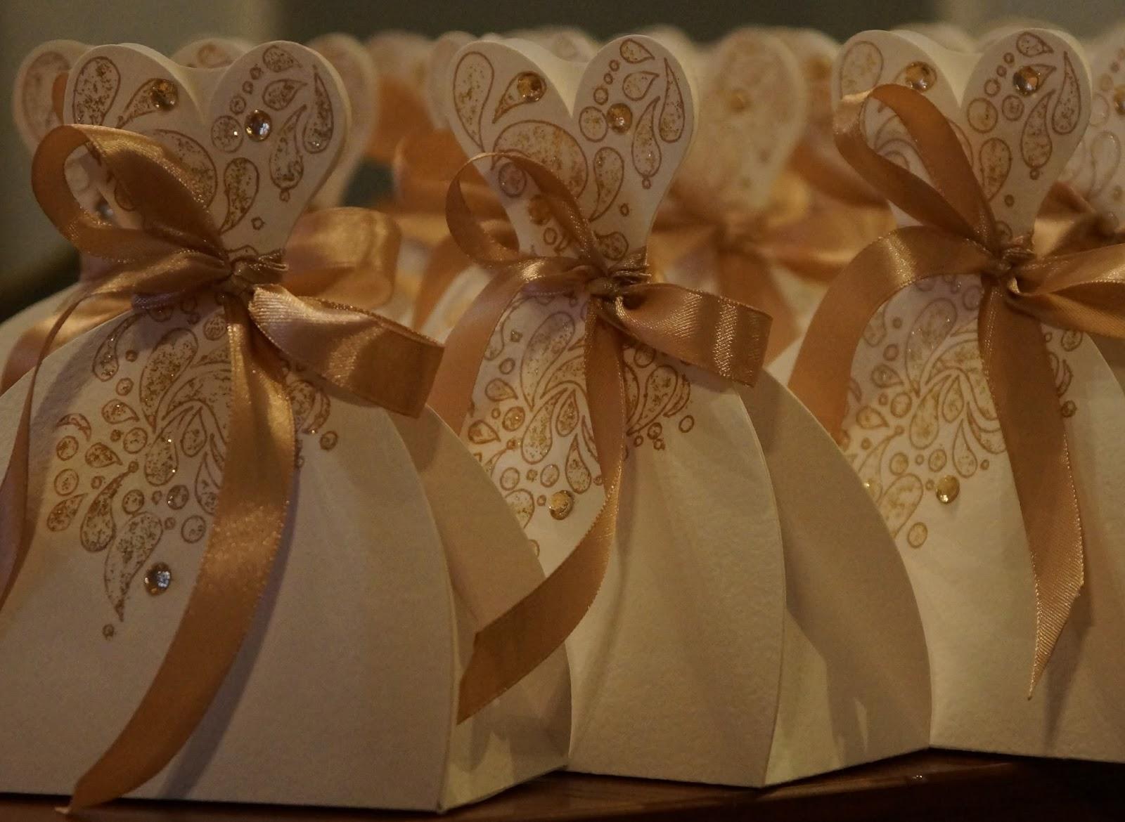 бонбоньерки из бумаги
