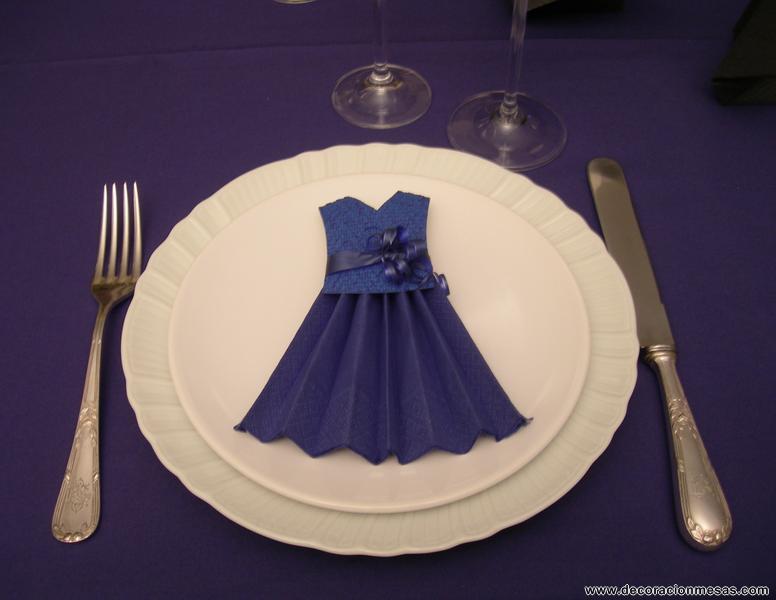 Decoracion de mesas mayo 2011 - Origami con servilletas ...
