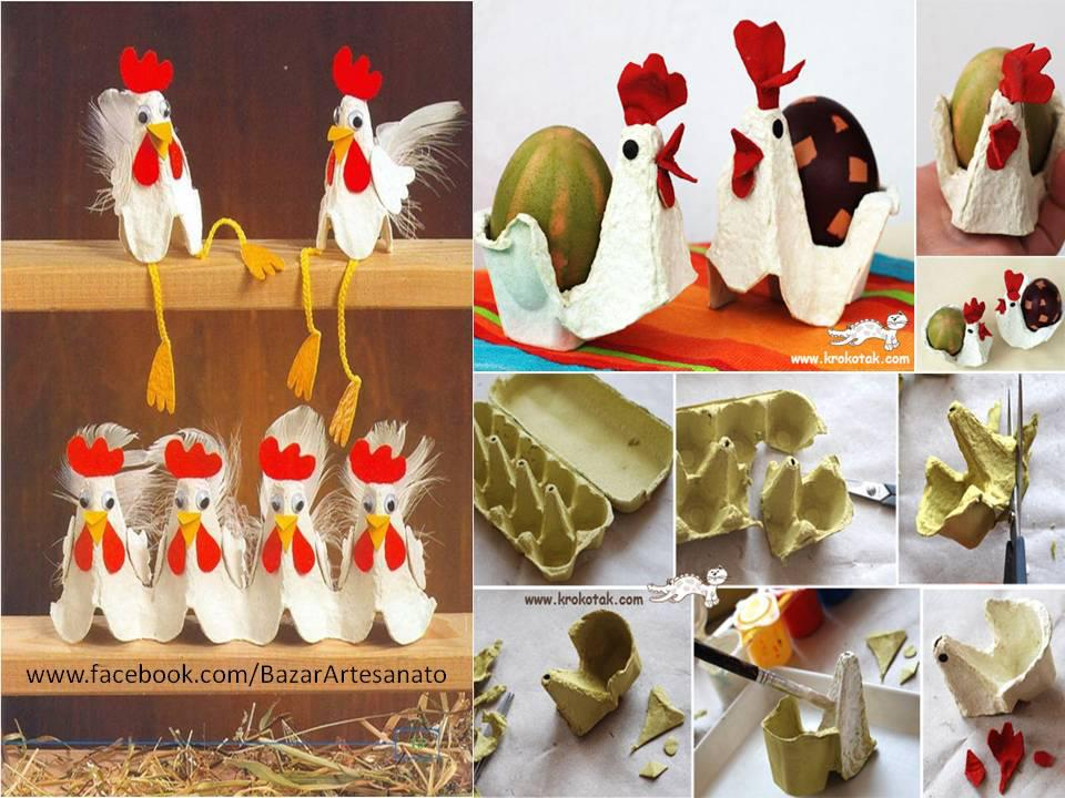 Egg-Carton Crafts Easter Ideas