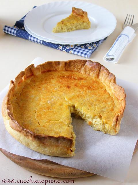 torta de cebola e queijo