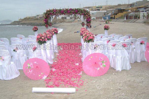 Matrimonio Simbolico En La Playa Peru : Bodas en la playa perú boda señoritas