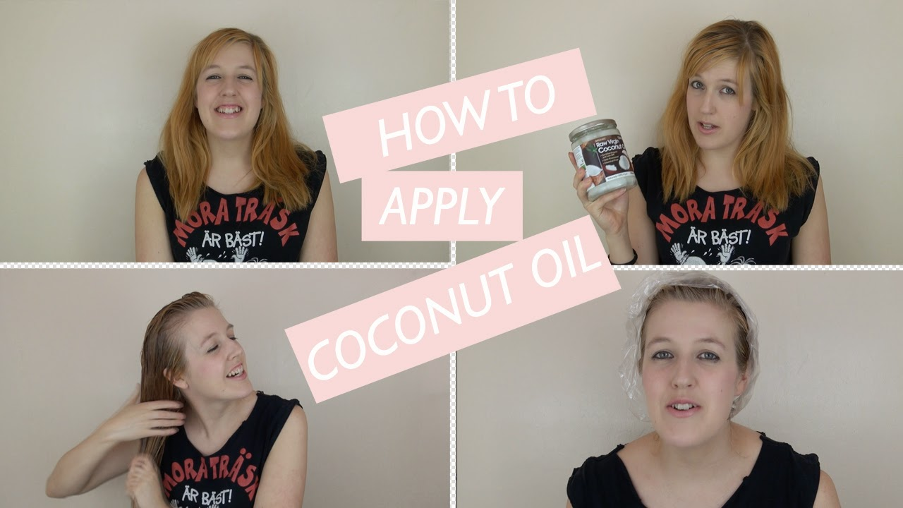 How To... Apply Virgin Coconut Oil To Your Hair