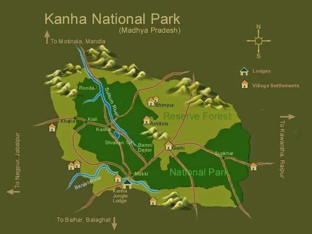 Kanha Animal sanctuaries