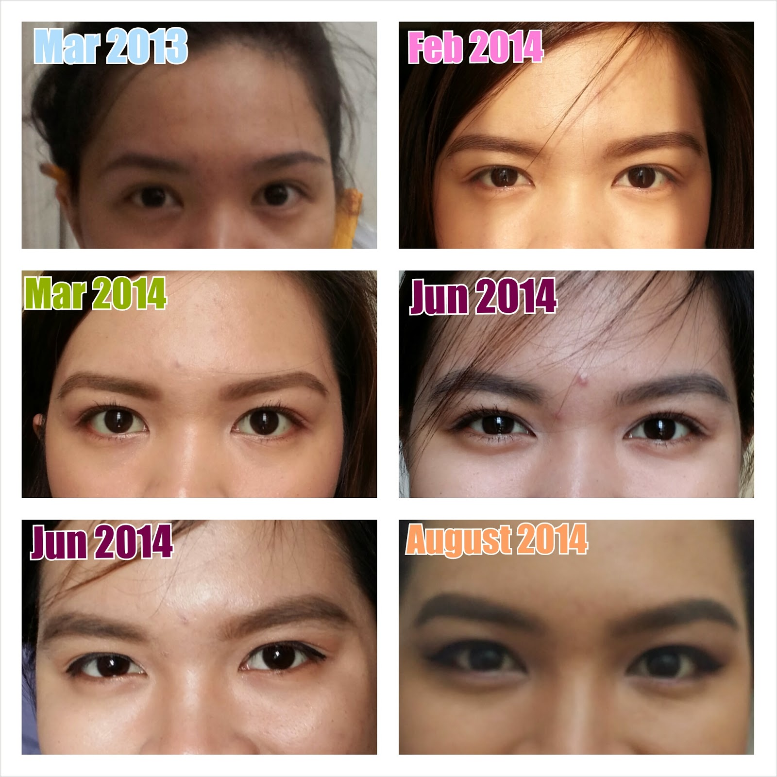 The Girly Medic All About Brows Series Review On Browhaus Lucky