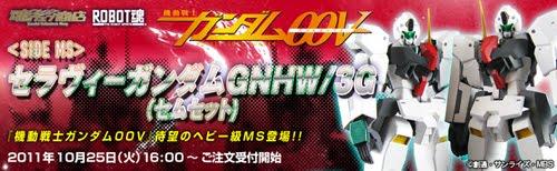 Robot Damashii (Side MS) Seravee Gundam GNHW/3G SEM Set