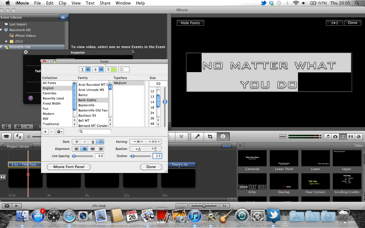 imovie how to change order of clips
