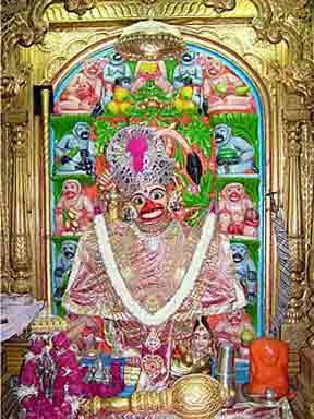Shree Kashtbhanjandev Hanumanji, Sarangpur, Gujarat