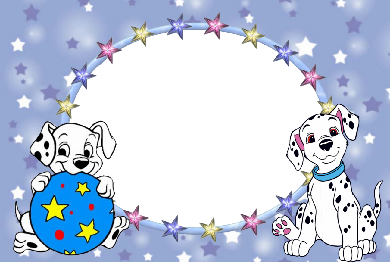101 Dalmatians Free Printable Photo Frames. | Oh My Fiesta! in english