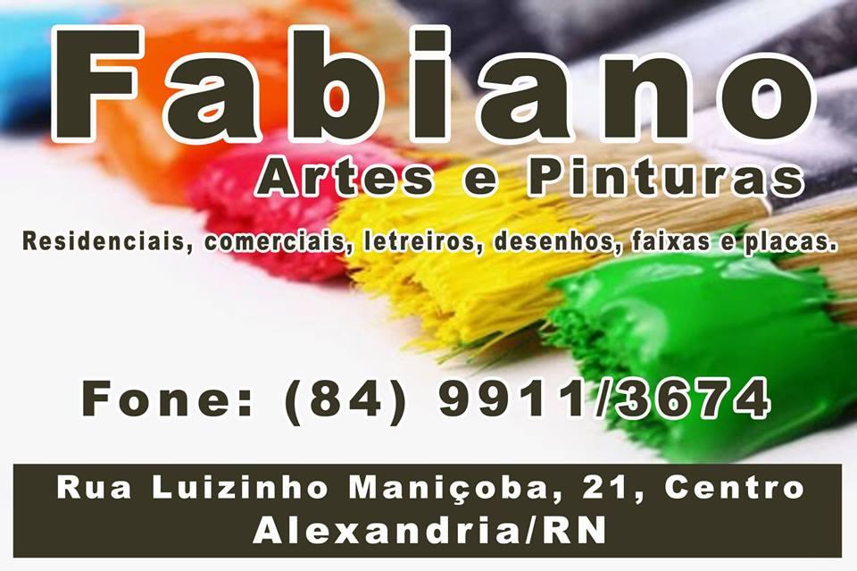 FABIANO ARTES E PINTURAS
