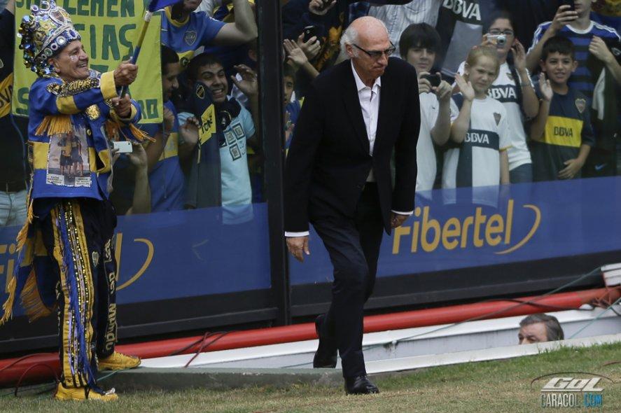 Carlos Bianchi regresó a Boca Juniors