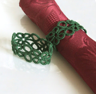 green napkin rings