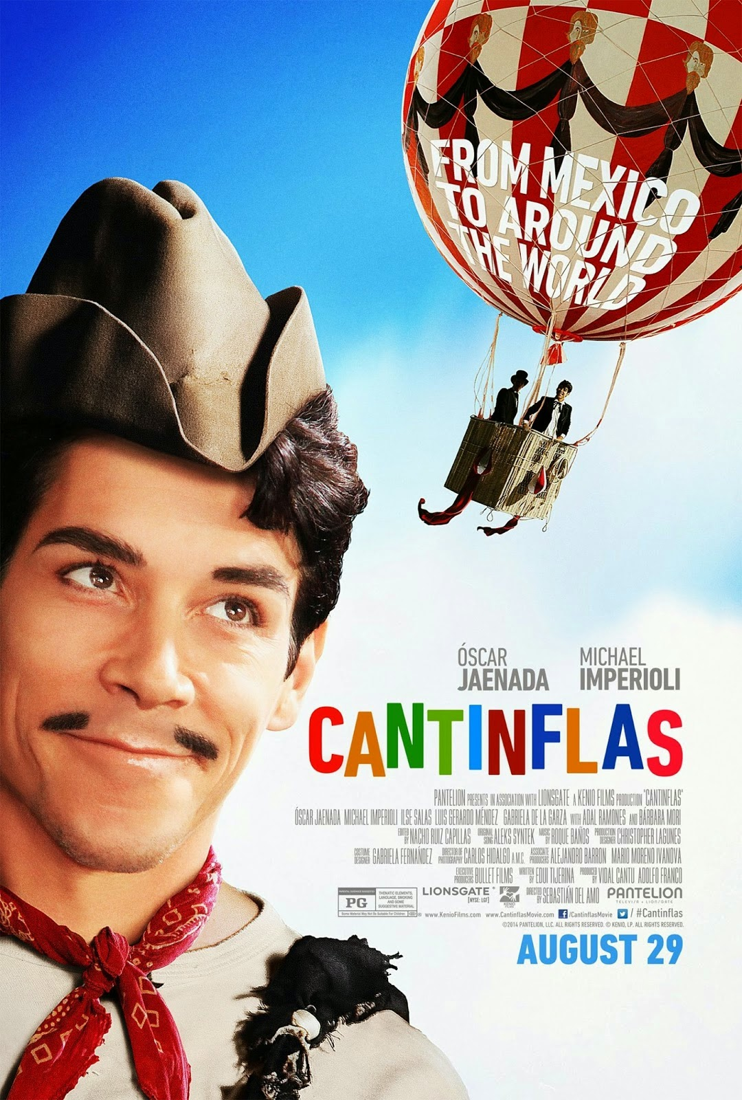 Poster oficial de Cantinflas 2014