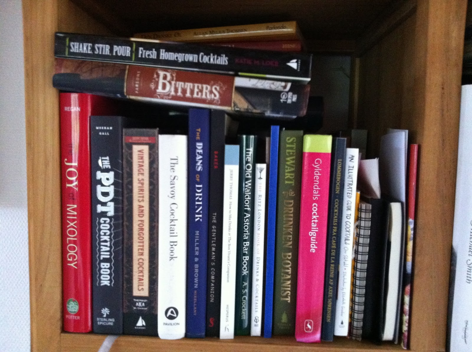 My 5 best cocktail books