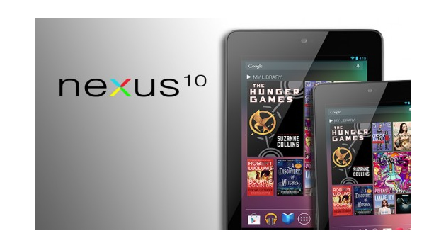 Google Nexus 10-inch tablet