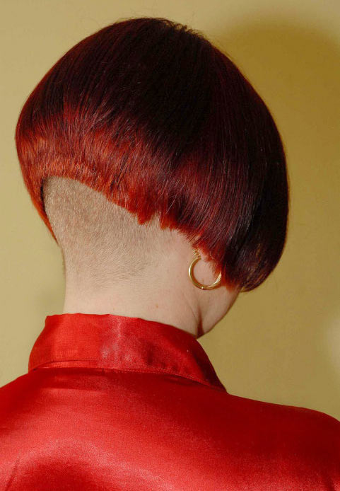 Shaved Nape Haircuts For Women Stories Short Hairstyle 2013