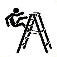 Perigo, Cair das escadas abaixo, Anedotas de açorianos