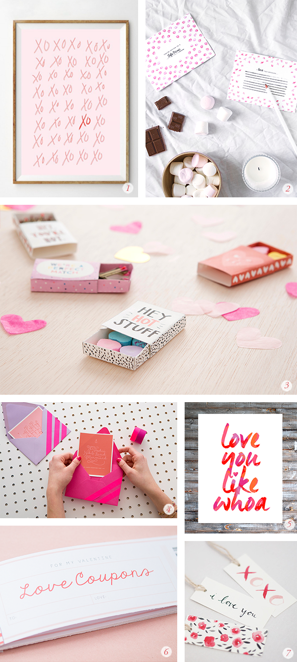 14 valentines day diy projects and free printables