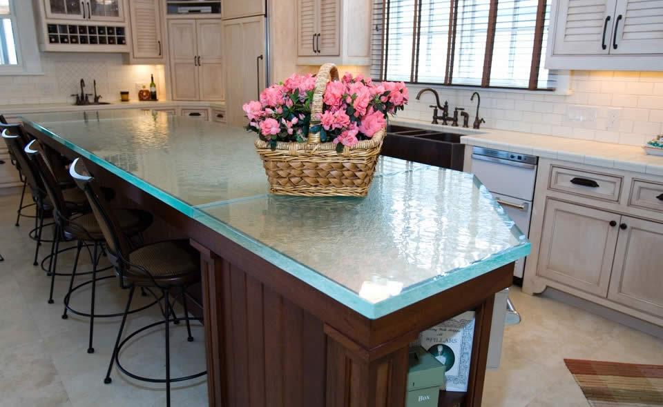 Decoraciones de cocinas encimeras de cristal con clase - Cocina con clase ...