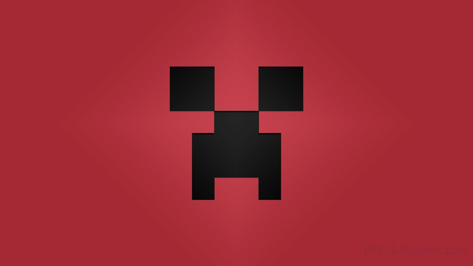 Minecraft Creeper desktop wallpapers red