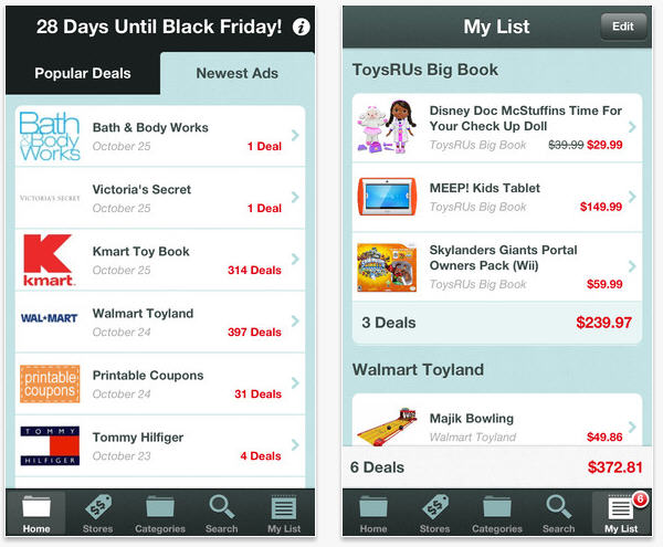 TGI Black Friday App