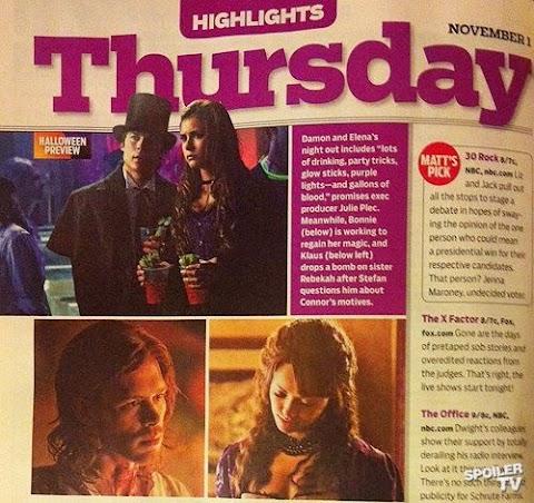 """The Vampire Diaries - 4×04 """"The Five"""" ¿Qué sabemos sobre la fiesta de disfraces?"""
