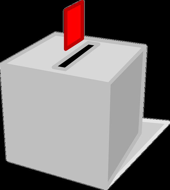 投票箱の画像