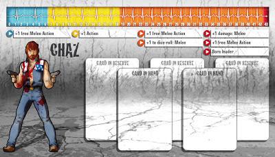 Zombicide Survivor Eagle Chaz Zombivore Paint Chuck Norris