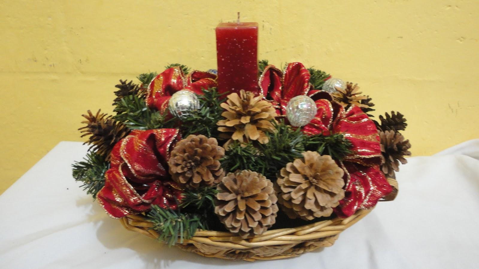 Tutorial como hacer un centro de mesa navide o - Como hacer un centro de mesa navideno ...