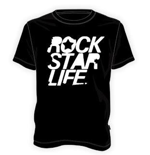 Koszulka Rock star life