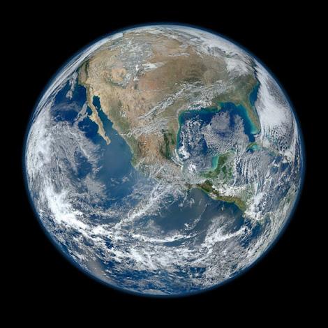 Tierra - Mexico desde el sátelite Suomi National Polar-orbiting Partnership