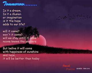 Download this Poem Tommorow picture