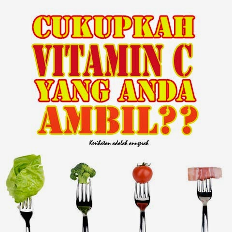 Kenapa Lelaki Ambil Supplement Vitamin C