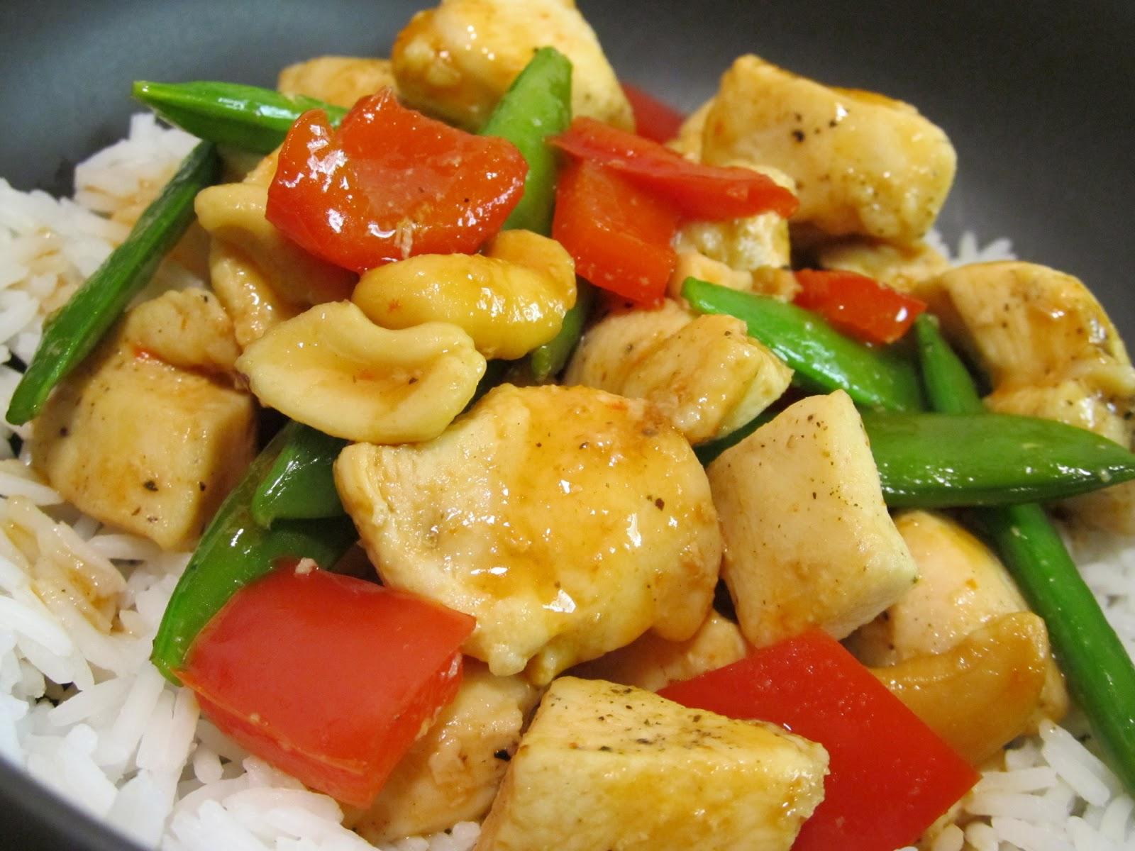 Jenn's Food Journey: Sriracha Honey Cashew Chicken