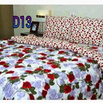 sprei handmade motif mawar