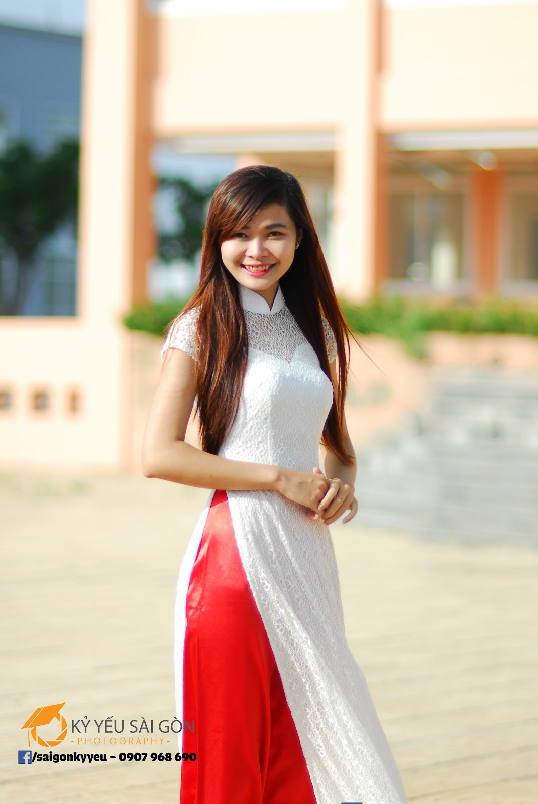 49 cách tạo dáng chụp ảnh với áo dài tuyệt đẹp - HThao Studio