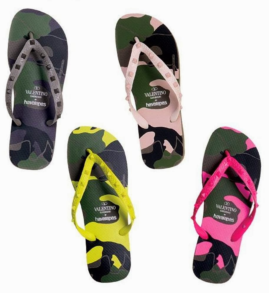 the terrier and lobster valentino rock stud havaianas flip flops. Black Bedroom Furniture Sets. Home Design Ideas