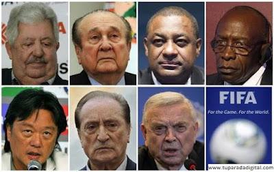 Estos son los directivos de la FIFA detenidos por corrupción