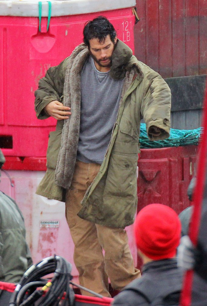Bearded Superman Set photos from Vancouver