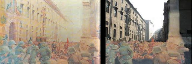 Одео́нсплац (нем. Odeonsplatz) — площадь в центре Мюнхена.  Площадь Одеонсплац была заложена королём Баварии Максимилианом I на месте разрушенной в 1791 году городской стены рядом с церковью Театинеркирхе. Строительство продолжалось в 1816—1828 гг.[1] В 1817 году были разрушены Швабингские ворота, площадь стала началом улиц Бриеннерштрассе и Людвигштрассе. В оформлении площади активное участие принимал знаменитый архитектор Лео фон Кленце, построивший в 1826—1828 годах концертный зал «Одеон». В 1817—1821 годах был построен дворец Лойхтенберг, во многом копирующий палаццо Фарнезе. Архитектурный ансамбль площади дополняет лоджия Фельдхеррнхалле, возведенная в 1841—1844 годах по проекту Гертнера. В 1862 году Макс фон Виднман установил конный памятник королю Людвигу I.  Известность площади добавил и трагически завершившийся здесь известный марш НСДАП по Мюнхену 9 ноября 1923 года, заключительная часть «Пивного путча»