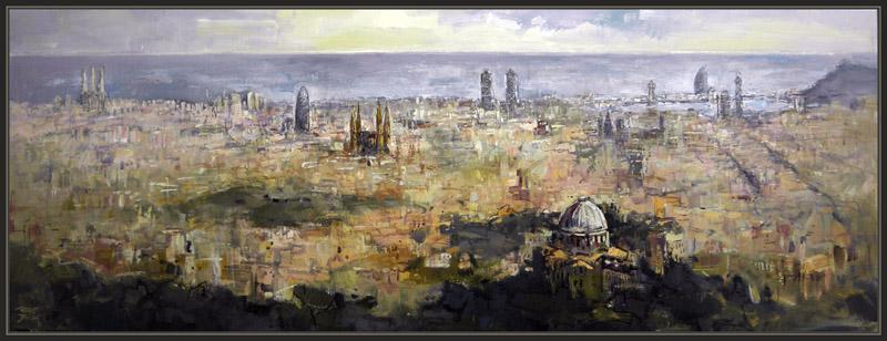 Ernest descals artista pintor barcelona panoramicas - Trabajo de pintor en barcelona ...