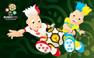 Euro 2012 Cup Mascots HD Wallpaper