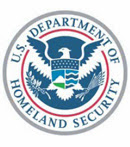 Logo for the Department of Homeland Security.
