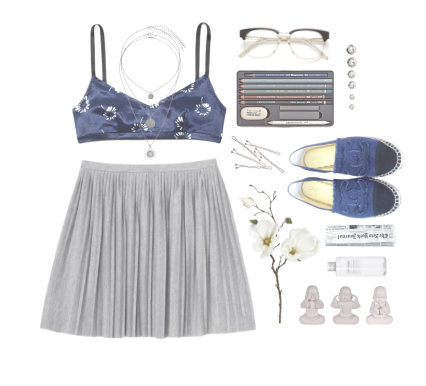 outfit fashion style blau blue webdesign design