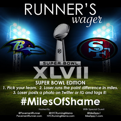 Miles of Shame Super Bowl Style