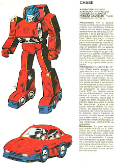 Chase (ficha transformers)