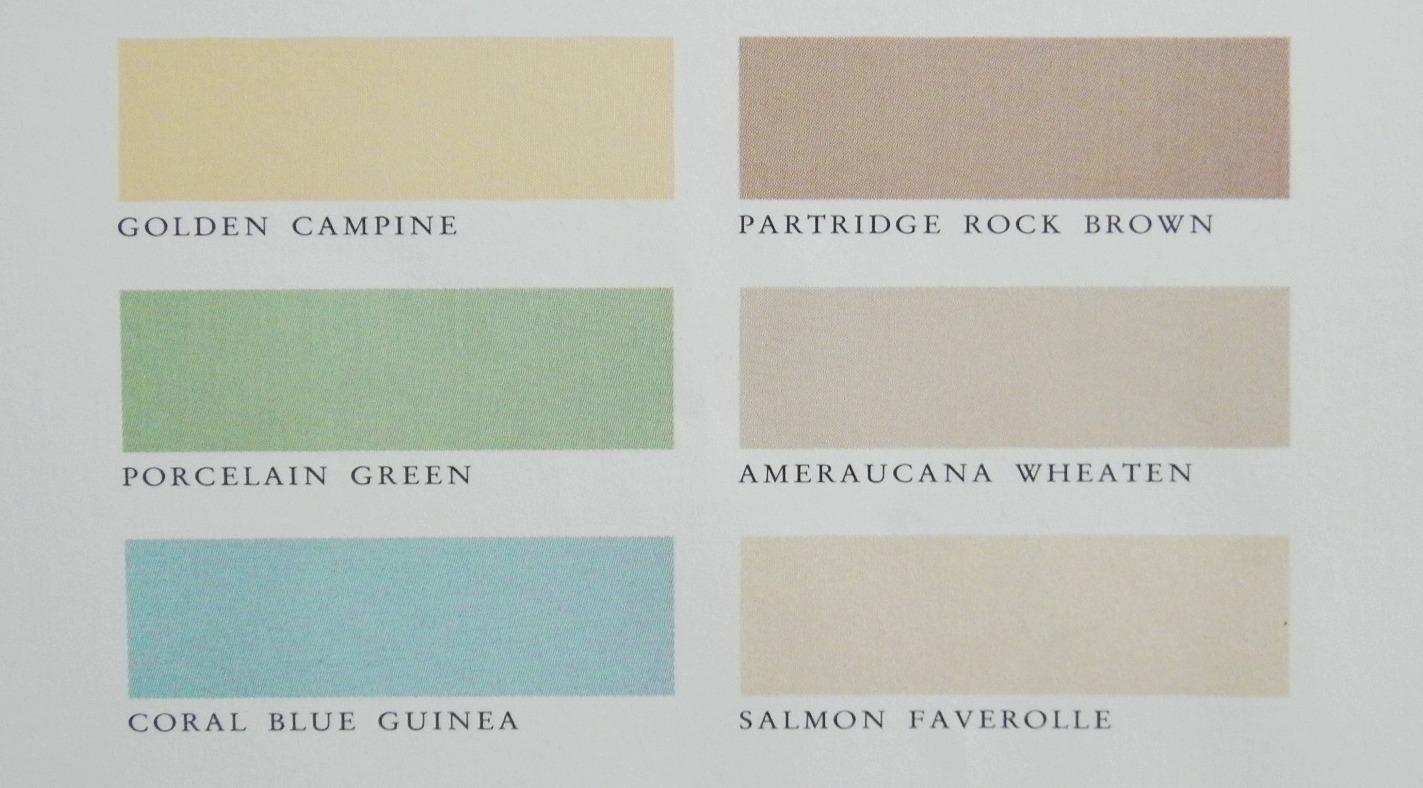 Coral Paint Color Chart Martha Stewart Paint Colors